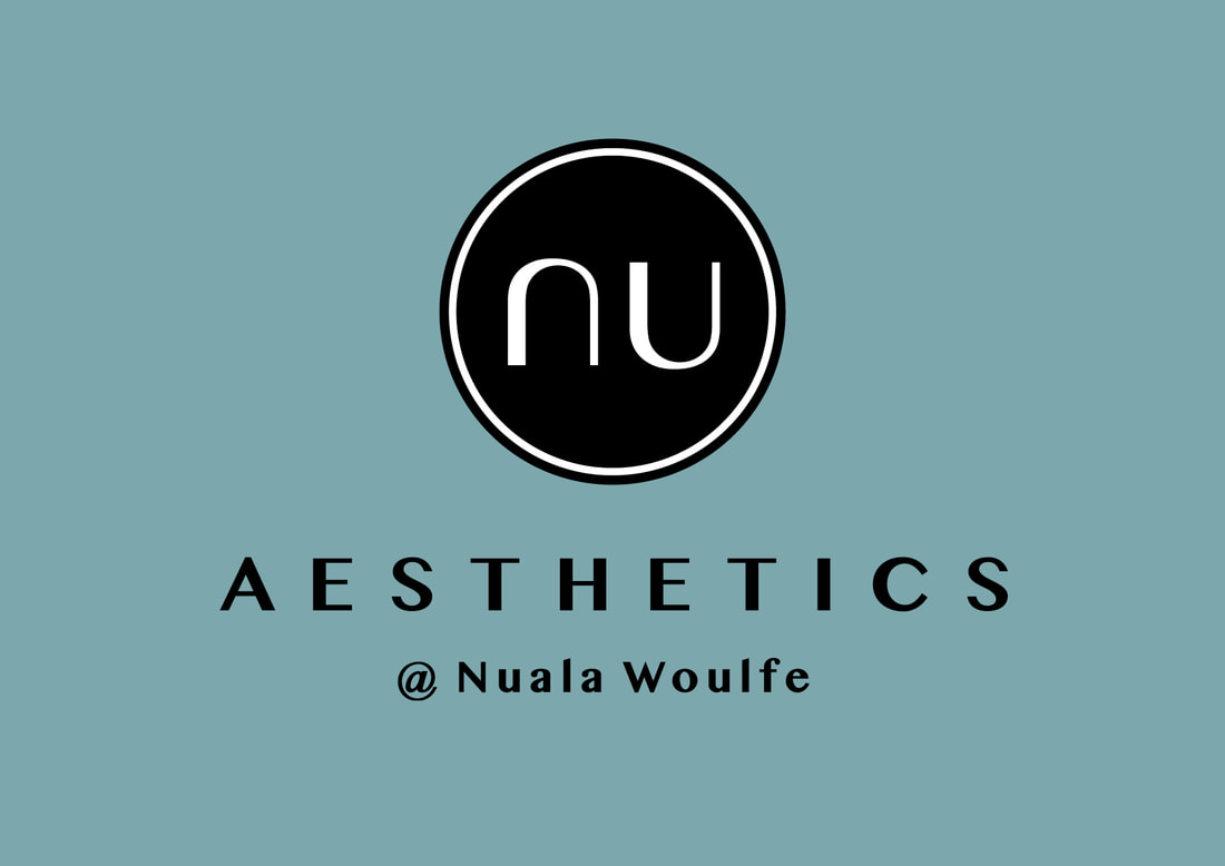 Brand identity work for Nuala Woulfe